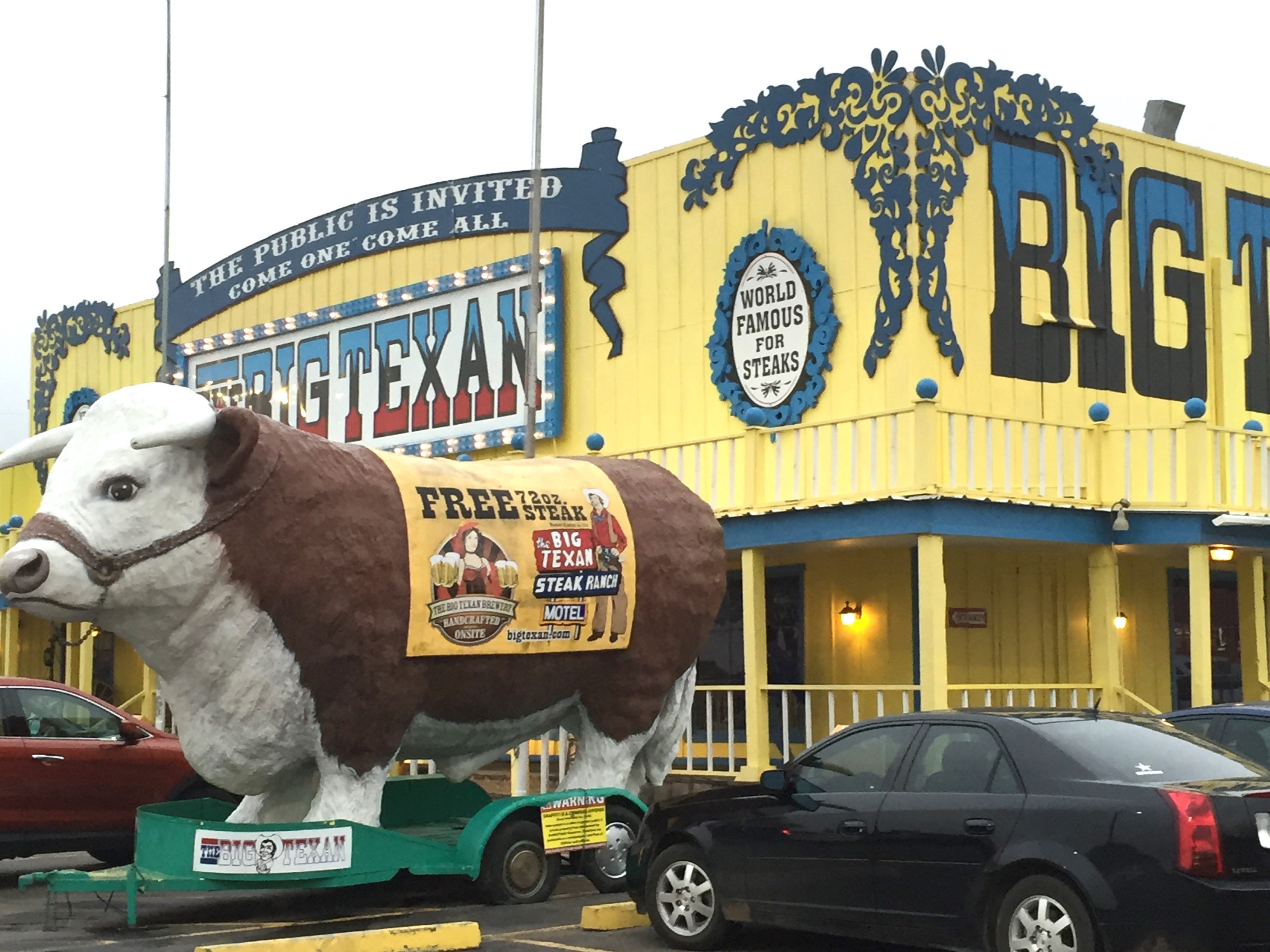 Big Texan steer