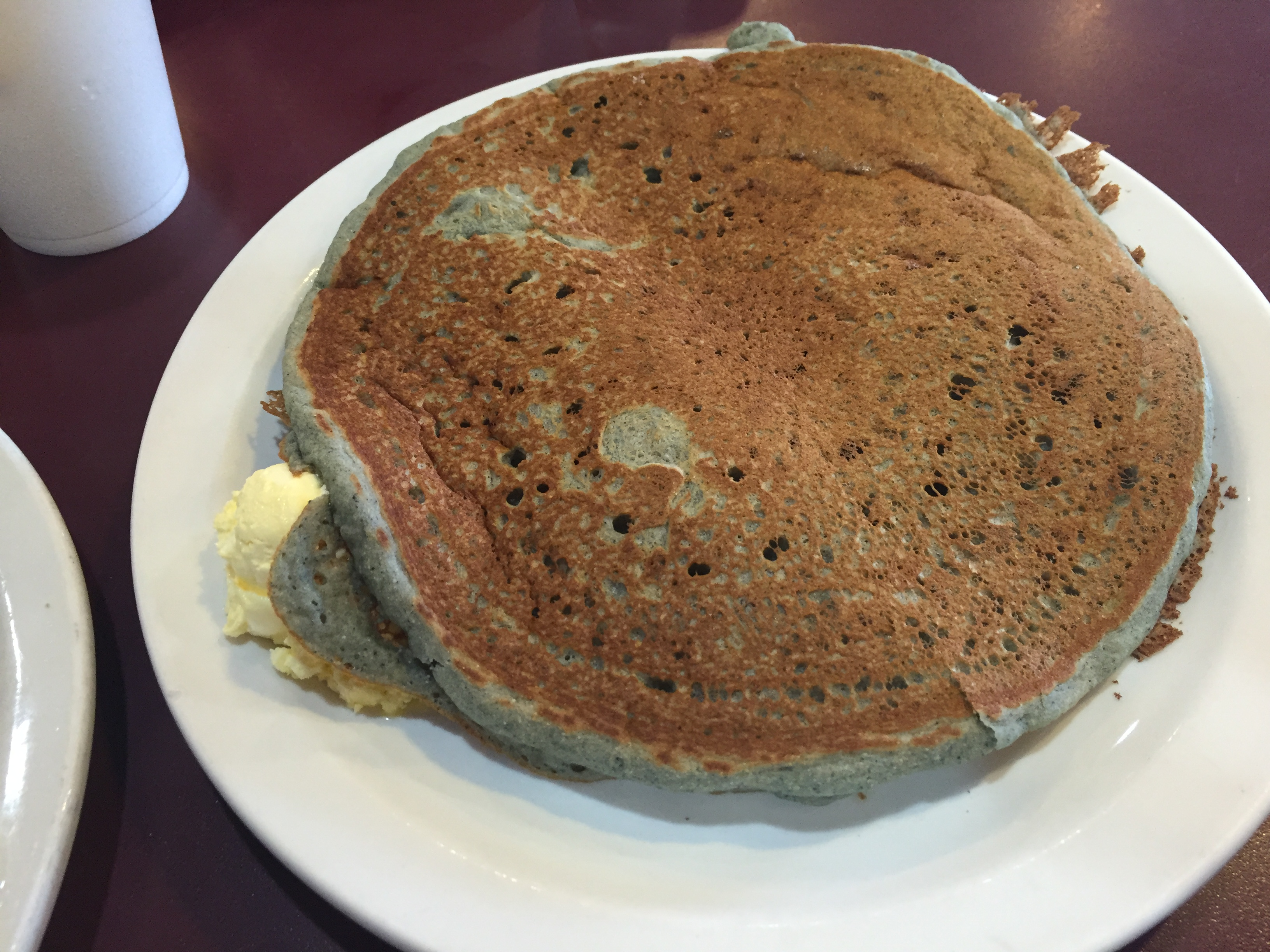 CDC Blue Corn Pancakes