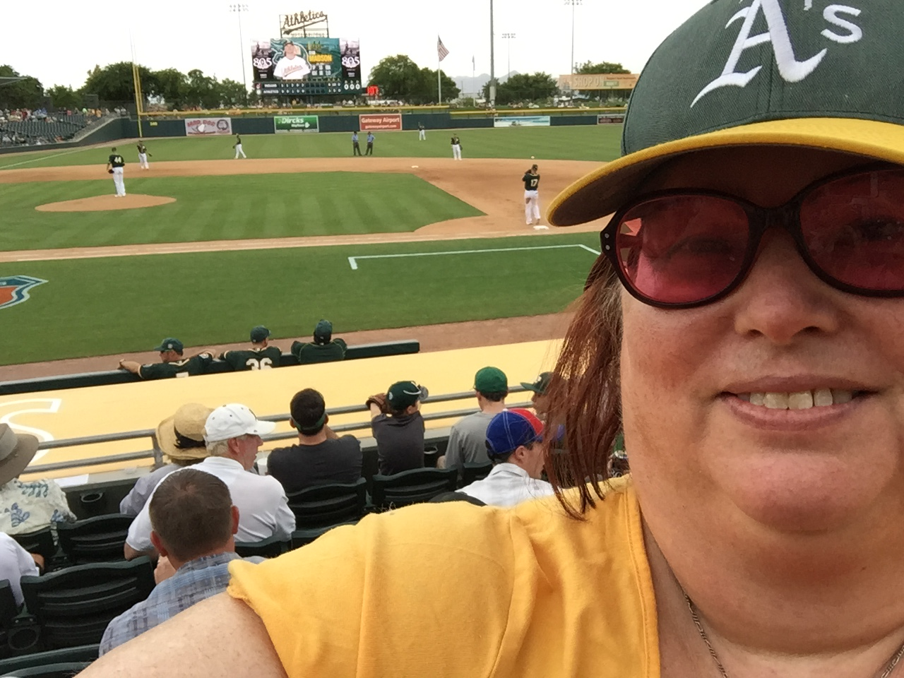 Spring Training selfie