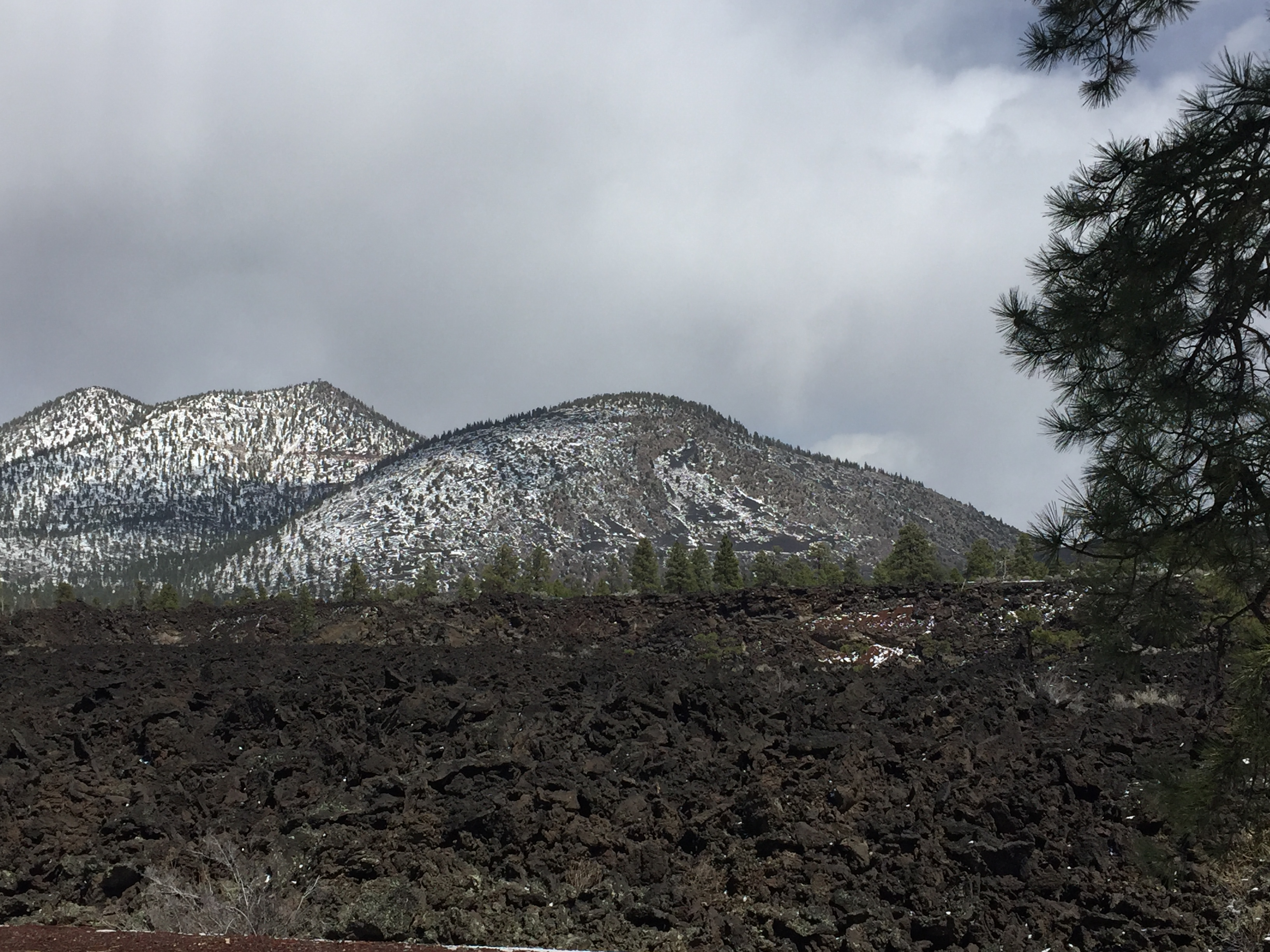 Sunset Crater rocks