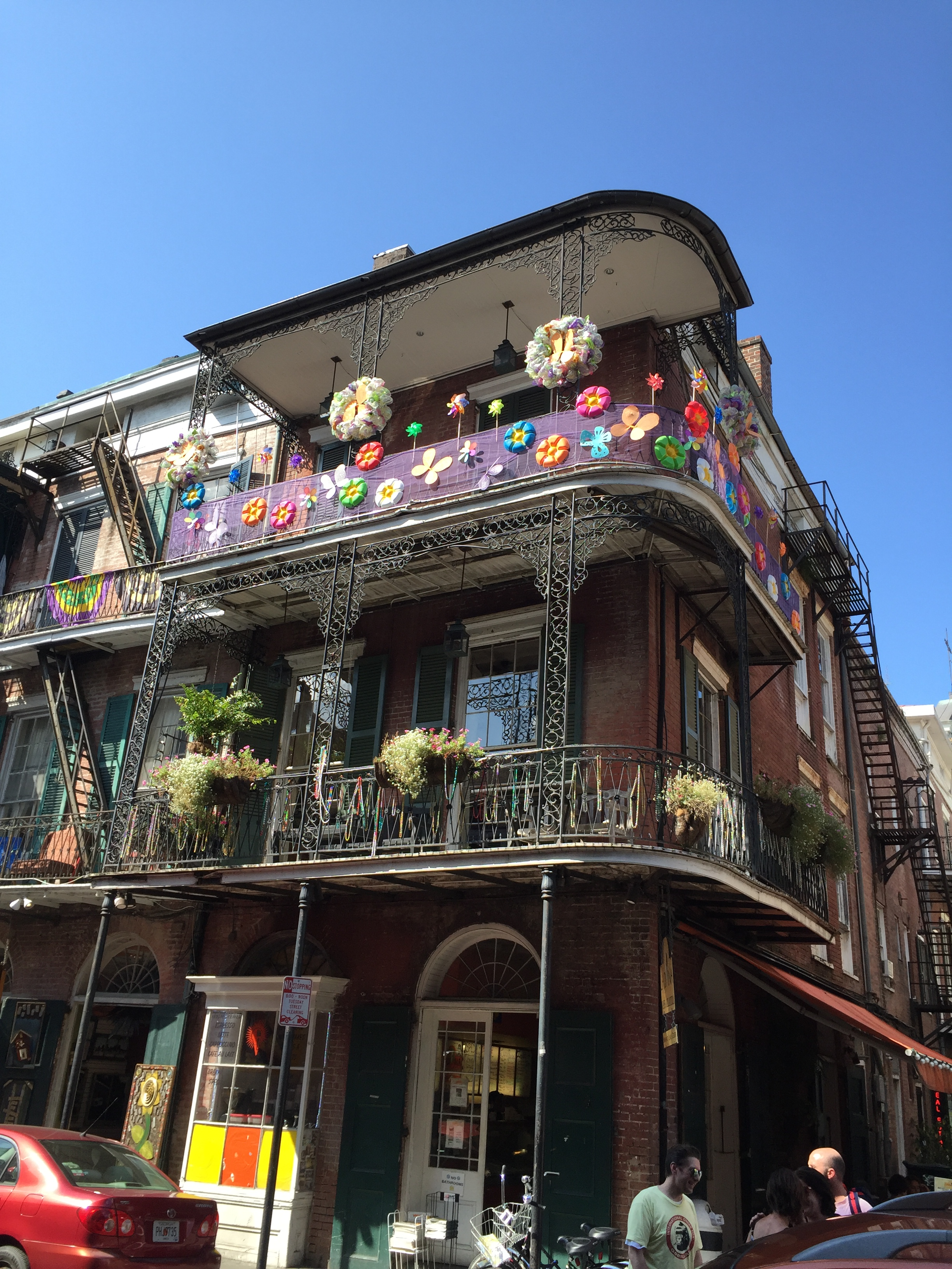 NOLA French Quarter Balconies